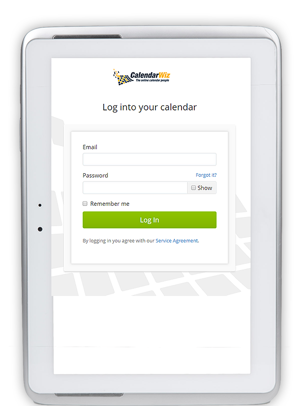 control calendar visibility with public and private categroies
